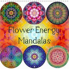 Flower Energy Mandalas calendar by Alaya Gadeh - CALVENDO, ©ALAYA GADEH