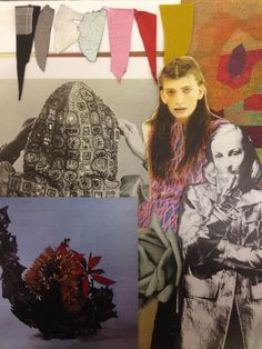 Sadie Williams shares a collage of her inspirations for AW15 #LFW