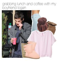 """""""grabbing lunch and coffee with my boyfriend logan"""" by gabrielavasquez7988 ❤ liked on Polyvore featuring Jack Wills, Monki, Kate Spade, UGG Australia, women's clothing, women's fashion, women, female, woman and misses"""
