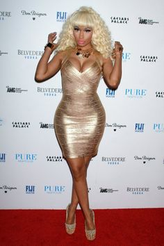 Nicki Minaj Parties In Las Vegas For New Years 2013 (PHOTOS)   Global Grind  HER DRESS AND SHOES !!!!