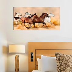 "Картина 98 х 48 см ""Галопом по пустыне"" (декоративное стекло) 1890 руб. Ссылка для заказа: http://decoretto.ru/art/glass/kartina-98-h-48-sm-galopom-po-pustyine-dekorativnoe-steklo/"