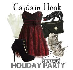 A Dress Captain Hook Inspired Outfit by DisneyBound