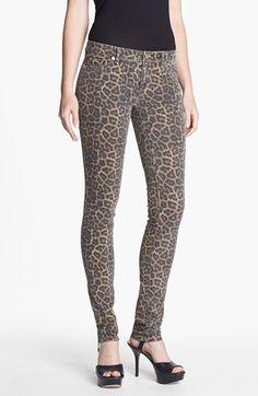 MICHAEL Michael Kors Jaguar Spot Skinny Jeans | Nordstrom