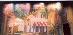 Backdrop for Aladdin Jr. and Kismet