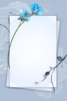 Frame Floral, Rose Frame, Flower Frame, Flower Background Wallpaper, Flower Phone Wallpaper, Flower Backgrounds, Frame Border Design, Photo Frame Design, Blue Flower Png