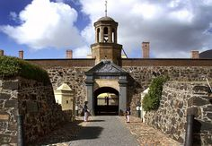 Castle of Good Hope - South Africa  . . . Not so much that I want to go there, but it seems interesting. . .