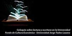 Lectura y escritura serán analizadas en la Tadeo | Universidad de Bogotá Jorge Tadeo Lozano University