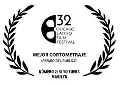 Nuevo premio para NÚMERO 2: SI YO FUERA MARILYN, de JC Falcón. El público del Chicago Latino Film Festival lo ha elegido como mejor cortometraje. ¡Muchísimas felicidades! Esa Marilyn que sigue arrasando... #Digital104FilmDistribution