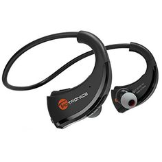 TaoTronics Bluetooth Headphones TaoTronics Bluetooth 41 Wireless Headphones Stereo Sports Earbuds  Sweatproof InEar Headsets aptX CVC 60 NoiseCancelling >>> To view further for this item, visit the image link.