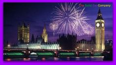 The Houses of Parliament in London on Bonfire Night