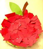 Fun craft...kids love to tear up paper and use glue and you make it into any shape or item!