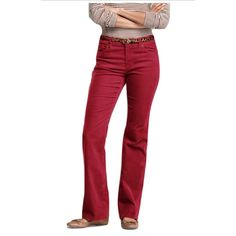 AG Jeans Sz 25 Cranberry Corduroy Pants •Eye-catching corduroy pants. •Women's apparel features 5-pocket styling •Bootcut styling •Zipper fly and button closure •Squiggle design on back pockets •Cranberry Color •98-percent cotton/2-percent polyurethane •Machine washable •Model number MIN1013 Anthropologie Pants Boot Cut & Flare