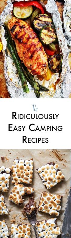 Summer time is camping time. These easy camping recipes will have you and your family running for the woods! http://abite.co/easy-camping