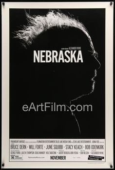 Happy Birthday #BruceDern https://eartfilm.com/search?q=bruce+dern #actors #acting #Nebraska #FamilyPlot #Hitchcock #cominghome #Tarrantino #AlexanderPayne #movie #movies #poster #posters #film #cinema #movieposter #movieposters    Nebraska-Bruce Dern-June Squibb-Stacy Keach-27x40-Advance-Double Sided