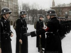 Waffen SS colourized, pin by Paolo Marzioli: