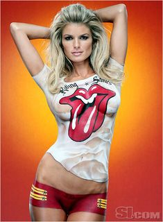 Come and get it Jagger body art - ✯ www.pinterest.com/WhoLoves/Body-Art ✯ #BodyArt