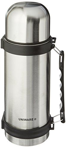 2401 Uniware Stainless Steel 1 Liter Travel Vacuum Flask ** This is an Amazon Affiliate link. For more information, visit image link.