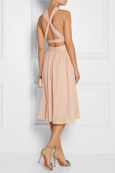jason wu - silk chiffon dress
