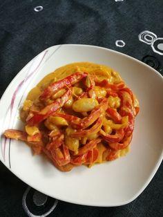 Gnocchi mit Paprikarahmsauce 1