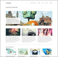 Best Responsive Business WordPress Themes – Want To Stand Out? Wordpress Template, Wordpress Theme, Dividers, Business