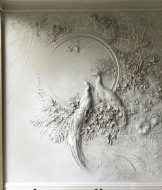 Artist Brings Rooms to Life With Impressionist-Inspired Relief Sculptures on Walls : High Relief Sculpture by Goga Tandashvili Plaster Art, Plaster Walls, Plaster Mouldings, Mural Art, Wall Murals, Wall Art, Wall Sculptures, Sculpture Art, Relief