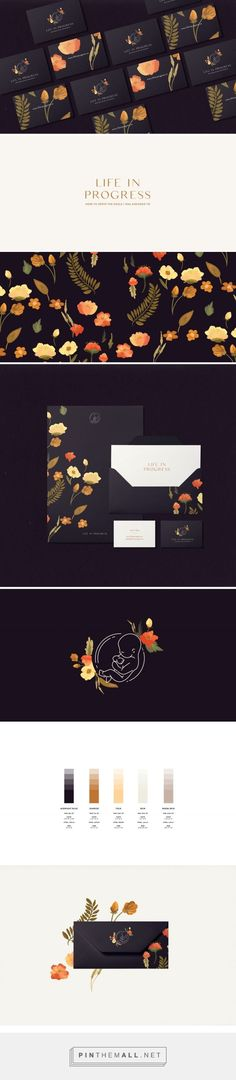 Life in Progress Branding by Cocorrina | Fivestar Branding Agency – Design and Branding Agency & Curated Inspiration Gallery #branding #identity #design #designideas #designinspiration