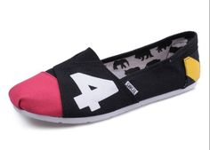 Cheap Toms black pink men shoes sale