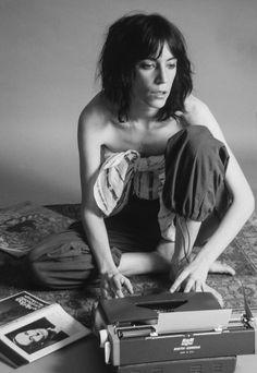 Patti Smith, 1976, by Lynn Goldsmith.