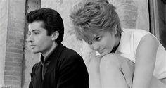 """George Chakiris e Claudia Cardinale in """"La ragazza di Bube"""""""
