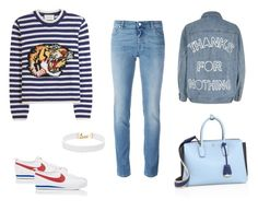 """""""🎣🎣🎣"""" by babybelllsss on Polyvore featuring Mode, Gucci, NIKE, Givenchy, River Island, MCM und Vanessa Mooney"""