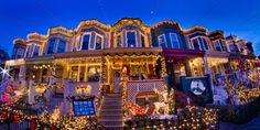 Awesome Christmas Lights On House | Best Christmas Lights Display