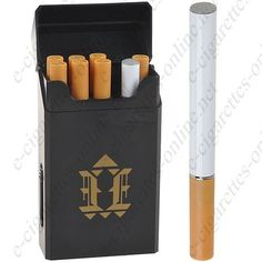 Black packet style E Cigarette kit with charger and 6 refills Type (S3), $13.18