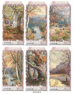 Autumn Hanging Tags