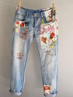 Levis Vintage 501 s Levis 501 XX Boyfriend Jeans Diy Jeans, Jeans Levi's, Patched Jeans, Jeans Button, Jeans Refashion, Hijab Jeans, Sewing Jeans, Fall Jeans, Button Button