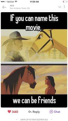 The animation, the music, the horses. :) This is my most favorite dreamworks movie besides How to Train Your Dragon. Spirit The Horse, Spirit And Rain, Spirit Animal, Spirit Horse Movie, Laika Studios, Horse Movies, Funny Horses, Horse Meme, Horse Quotes