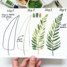 Ideas diy art projects watercolor watercolour - Image 18 of 23 Watercolour Tutorials, Watercolor Techniques, Art Techniques, Painting & Drawing, Watercolor Paintings, Watercolor Artists, Diy Art Projects, Tree Illustration, Illustrations
