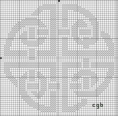 Free Celtic Shield Knot Cross Stitch Pattern - Free Celtic Knot ...