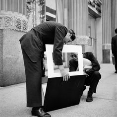 Vivian Maier - Chicago, July 1961 (2 men/portfolio)