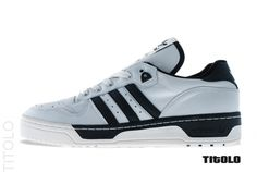 adidas Rivalry Lo - Neo White / White Vapour - Black