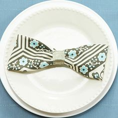 How to Fold a Bow Tie Napkin. Southern Living video