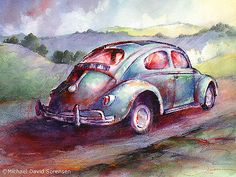 A Rag Top Bug In Wine Country | by Mdsoren