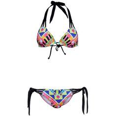 Billabong MAYA TROPIC Bikini ($84) ❤ liked on Polyvore