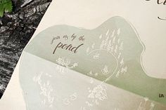Nature-Inspired Wedding Invitations by Belinda Love Lee via Oh So Beautiful Paper (5)