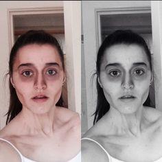 Gaunt makeup #zombie