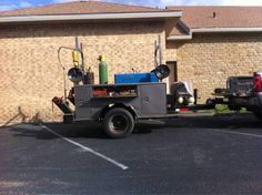 Welding Trailer with Utility Bed