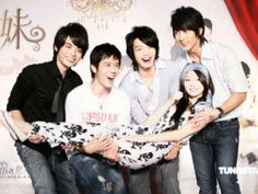 Romantic Princess - 2007 Wu Chun, Calvin Chen, Angela Chang, Eric Lee Ang Lin, and George Hu. Angela Chang, George Hu, Romantic Princess, Digital Ink, Best Tv Shows, Im In Love, My Idol, Famous People, Kdrama