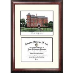 Norfolk State 8.5 inch x 11 inch Scholar Diploma Frame