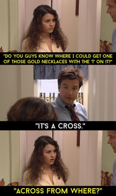 "When Maeby decided to become religious. | 25 ""Arrested Development"" Quotes We Will Never Be Able To Forget"