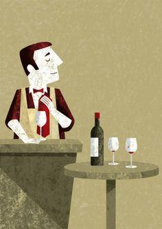 Tomso #illustrations #wine
