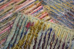 "Textile Art- ""Slashing"" | by Colouricious"